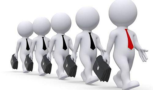 Odlazak na posao zaposljavanje radnici